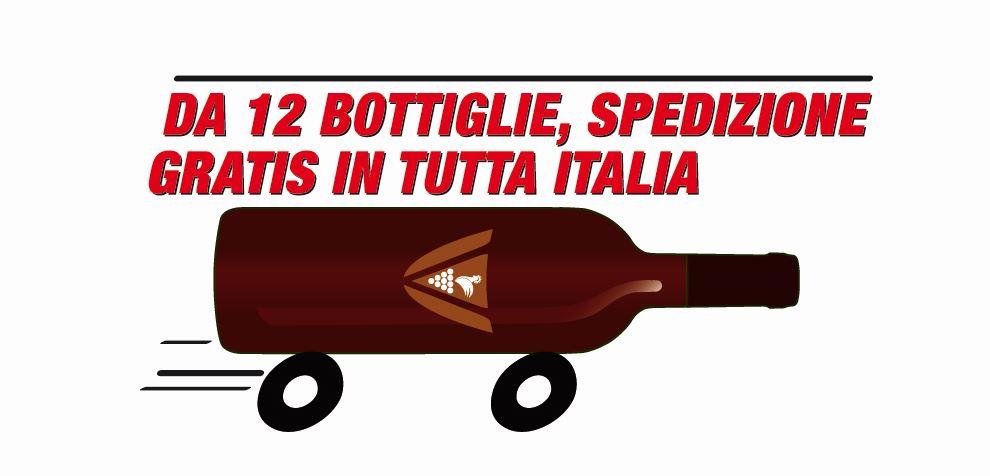 Spedizione gratuita in tutta Italia
